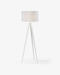 Iguazu floor lamp, white
