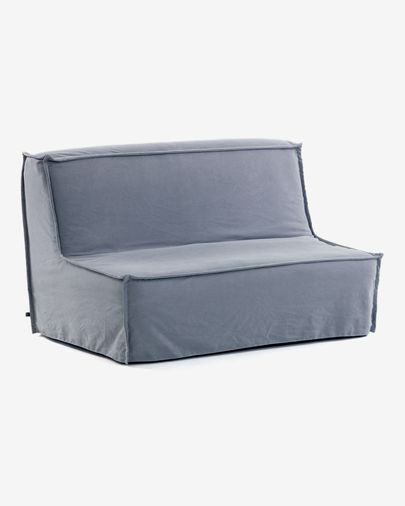 Lyanna sofa bed 140 cm  blue