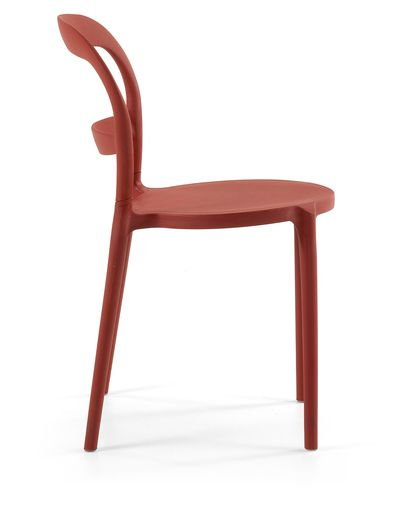 Abell chair, red