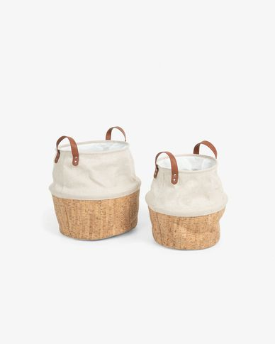 Set of 2 Kylie baskets