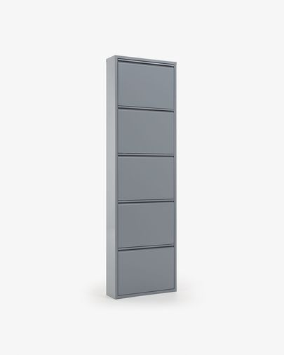 Shoe rack Ode 5 doors grey