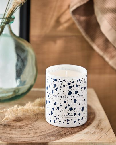 Mediterranean aromatic candle