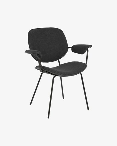 Naiquen dark grey chair