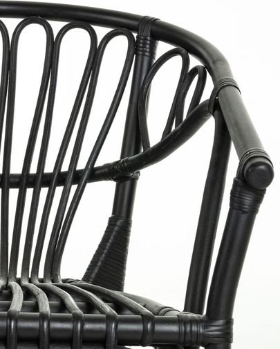Black Ganga chair