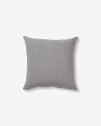 Kam cushion cover 45 x 45 cm grey