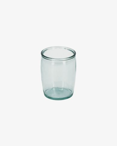 Trella clear bathroom cup