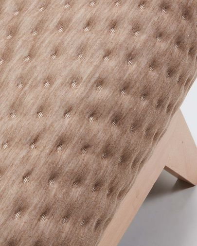 Koki sofa bed quilted beige