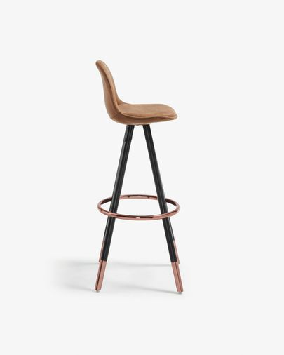 Rust brown Slad barstool height 75 cm