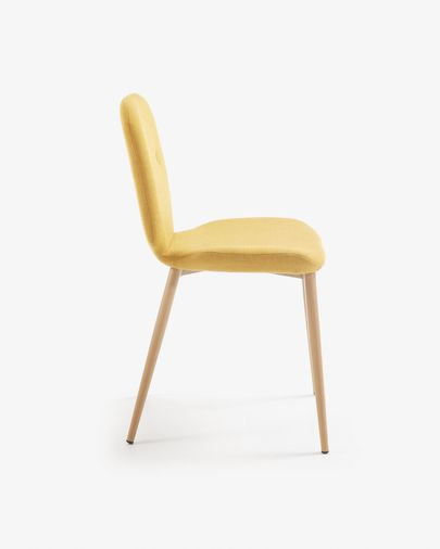 Chaise Meet moutarde