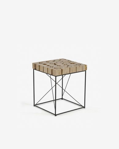 Table d'appoint Dapp 40 x 40 cm