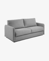Kymoon sofa bed 160 cm visco light grey