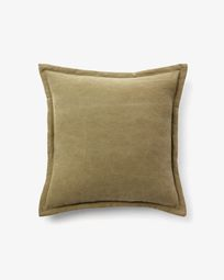 Lisette cushion cover 45 x 45 cm in brown