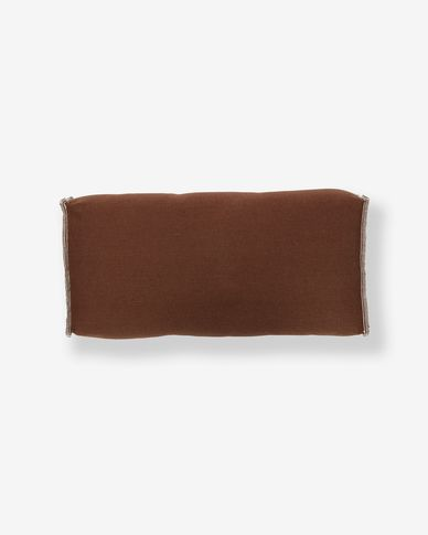 Coussin accoudoir Re Sako marron
