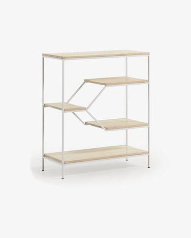 Push shelving unit 80 x 93,5 cm white