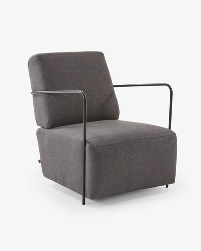 Dark grey Gamer armchair