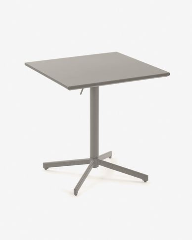Advance 70 x 70 cm matte grey table