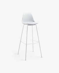 Grey Brighter barstool height 75 cm