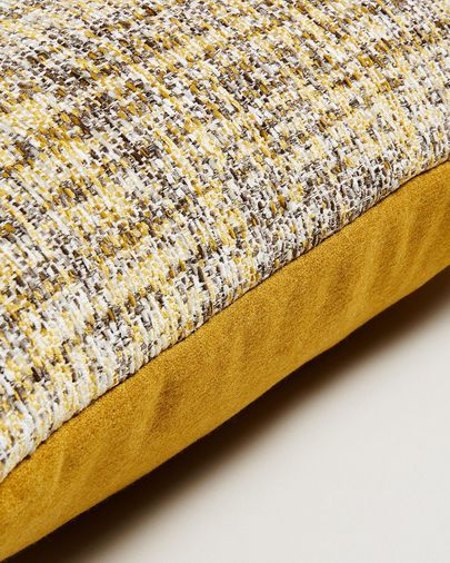 Boho cushion cover 30 x 50 cm mustard