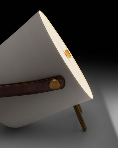 White Match table lamp