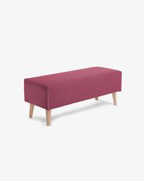 Burgundy Dyla bench