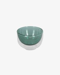 Braulia green bowl