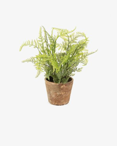 Zelena artificial plant fern