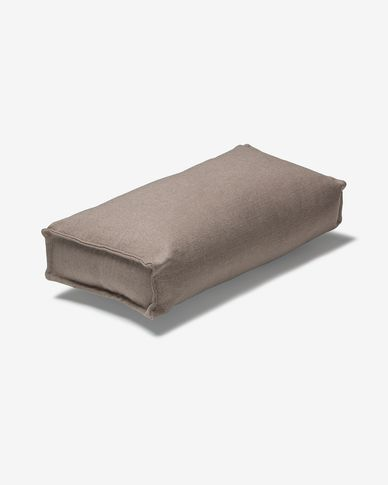 Coussin accoudoir Re Bulova marron