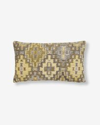 Nazca cushion cover 30 x 50 cm mustard