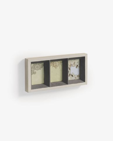 Farbe wall photo frame