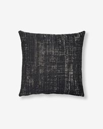Nazca cushion cover 45 x 45 cm black