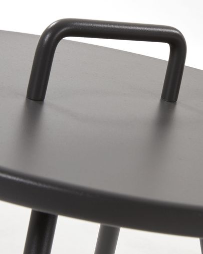 Black Accost side table