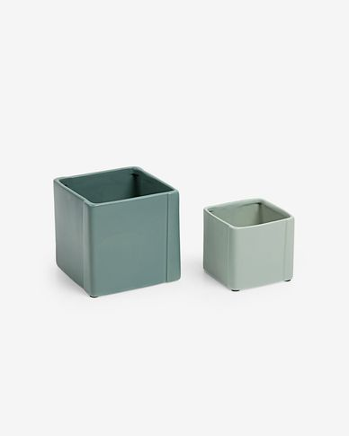Georgina set of 2 planters
