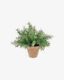 Zelena artificial plant rosemary