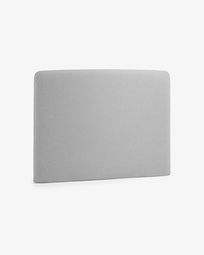 Grey Dyla headboard cover 90 cm