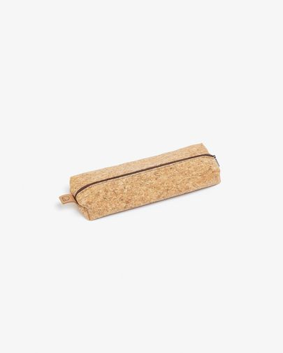 Pencil Case Foa made of natural cork with zipper