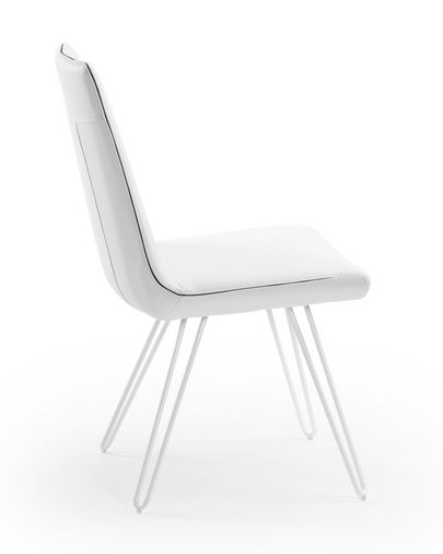 Sculptor chair, white