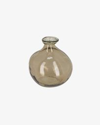 Breena little brown vase