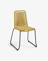 Mustard Amirah chair