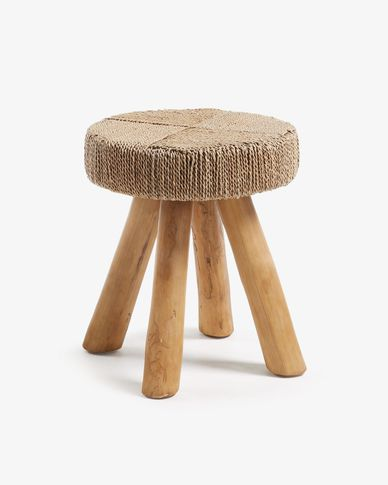 Itsy natural fiber footrest