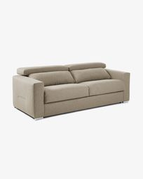 Kant sofa bed 160 cm viscoelastic beige