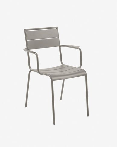 Advance matte grey chair