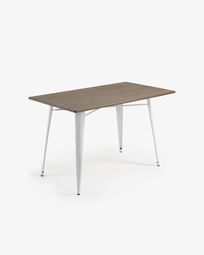 White Malira table 150 x 80 cm