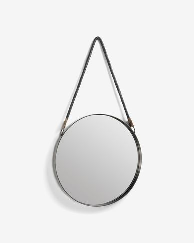 Steft mirror pewter