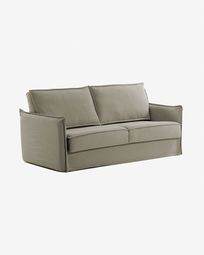 Samsa Bettsofa 160 cm visco beige