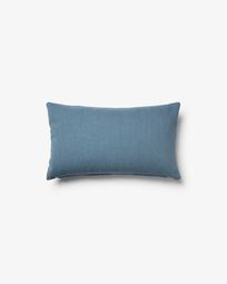 Kam cushion 30 x 50 cm blue