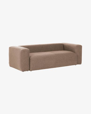 Pink 2 seaters Blok sofa 210 cm