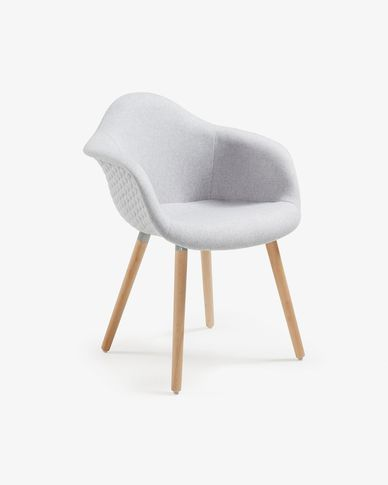 Light grey Kevya chair