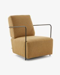 Mustard Gamer armchair
