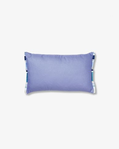 Mirena cushion 30 x 50 cm blue