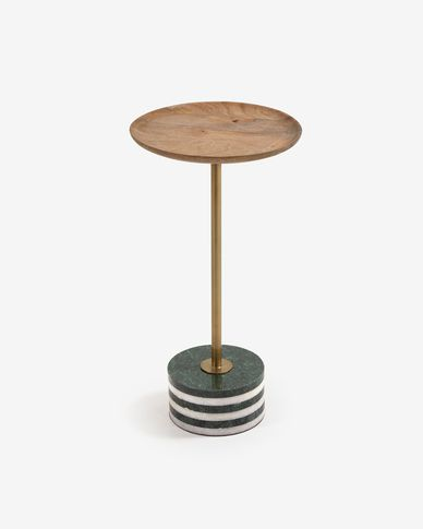 Table d'appoint ronde Lleyton Ø 25 cm
